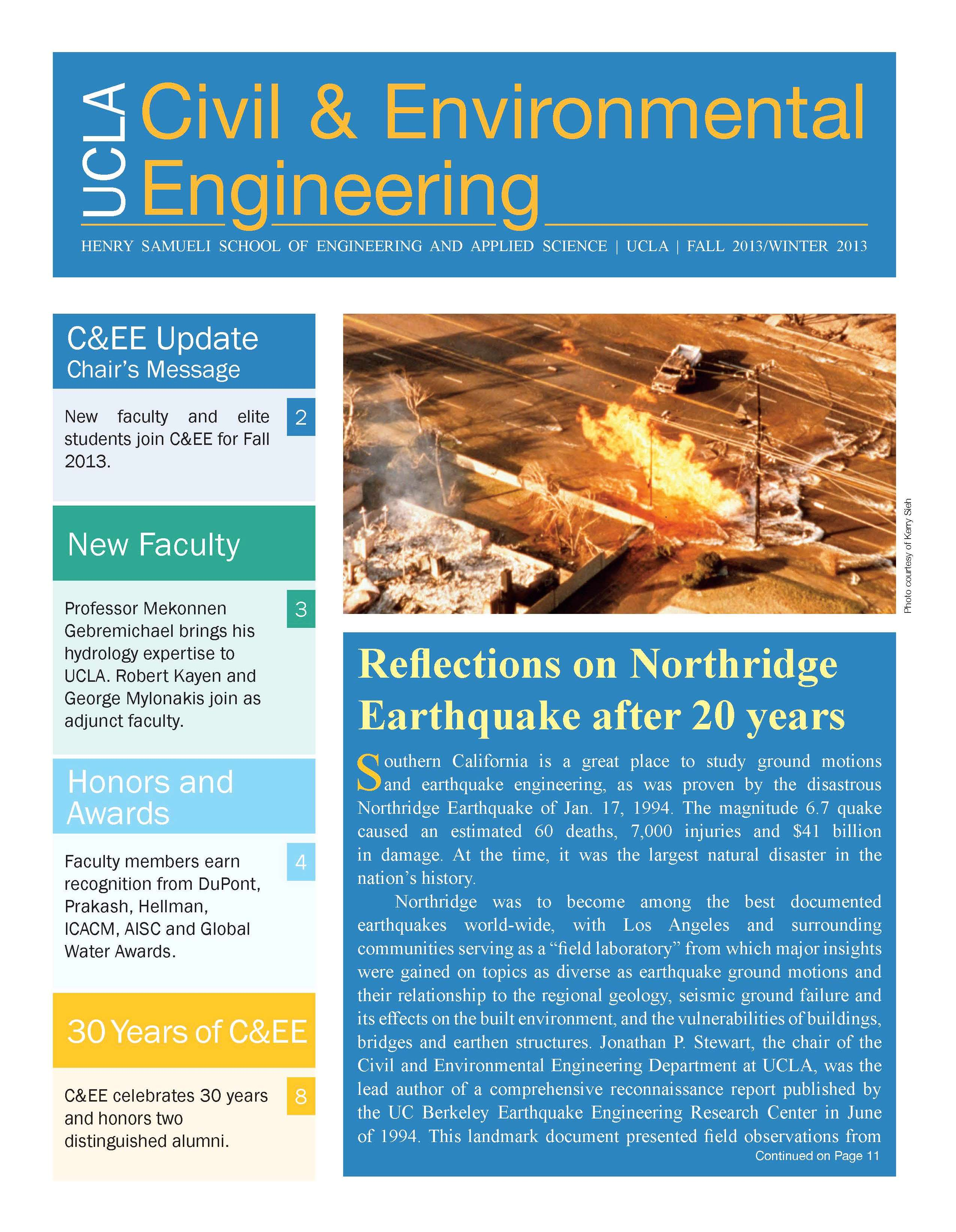 Department Newsletters | CEE