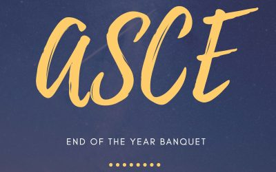 RSVP Today: ASCE End of the Year Banquet