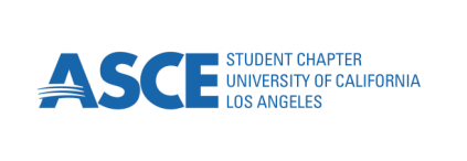 "ASCE logo, reads ""ASCE STUDENT CHAPTER UNIVERSITY OF CALIFORNIA LOS ANGELES"""