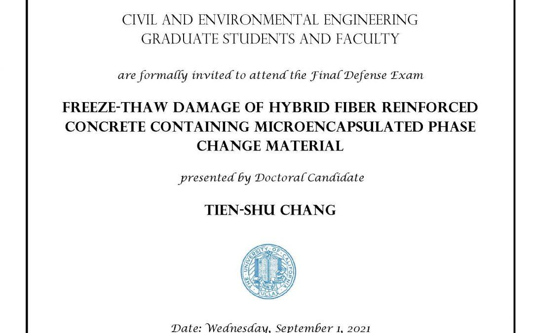 Tien-Shu Chang exam flyer