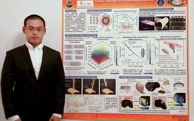 C.E.E. PhD Student Desheng Yao wins 1st Place Poster Award