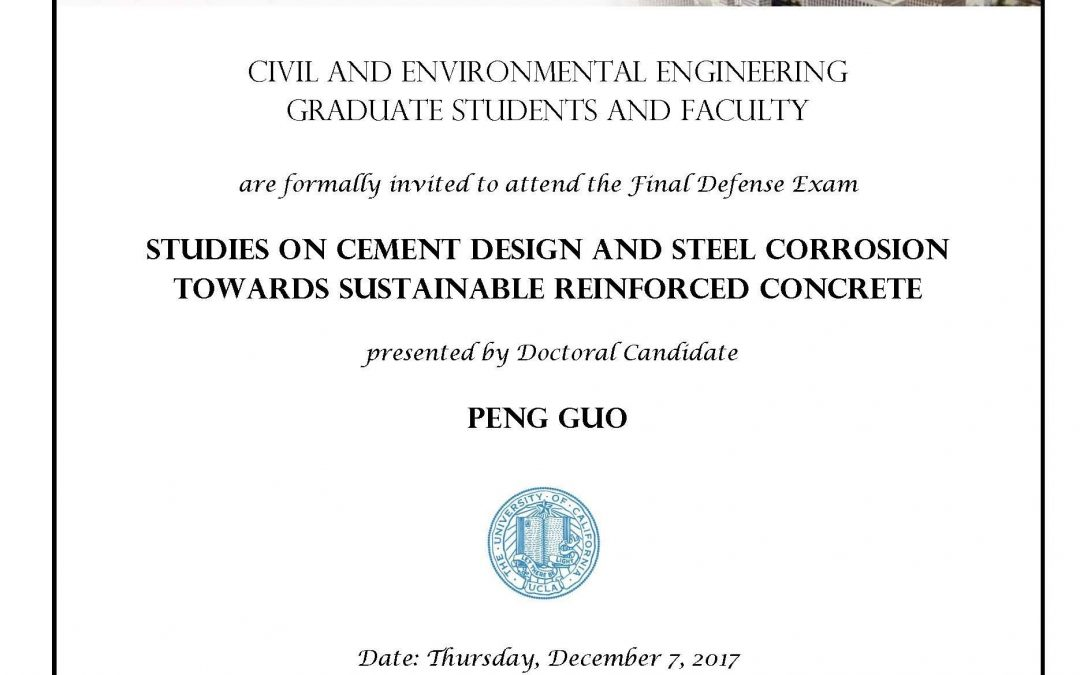 Final Defense Exam: Peng Guo