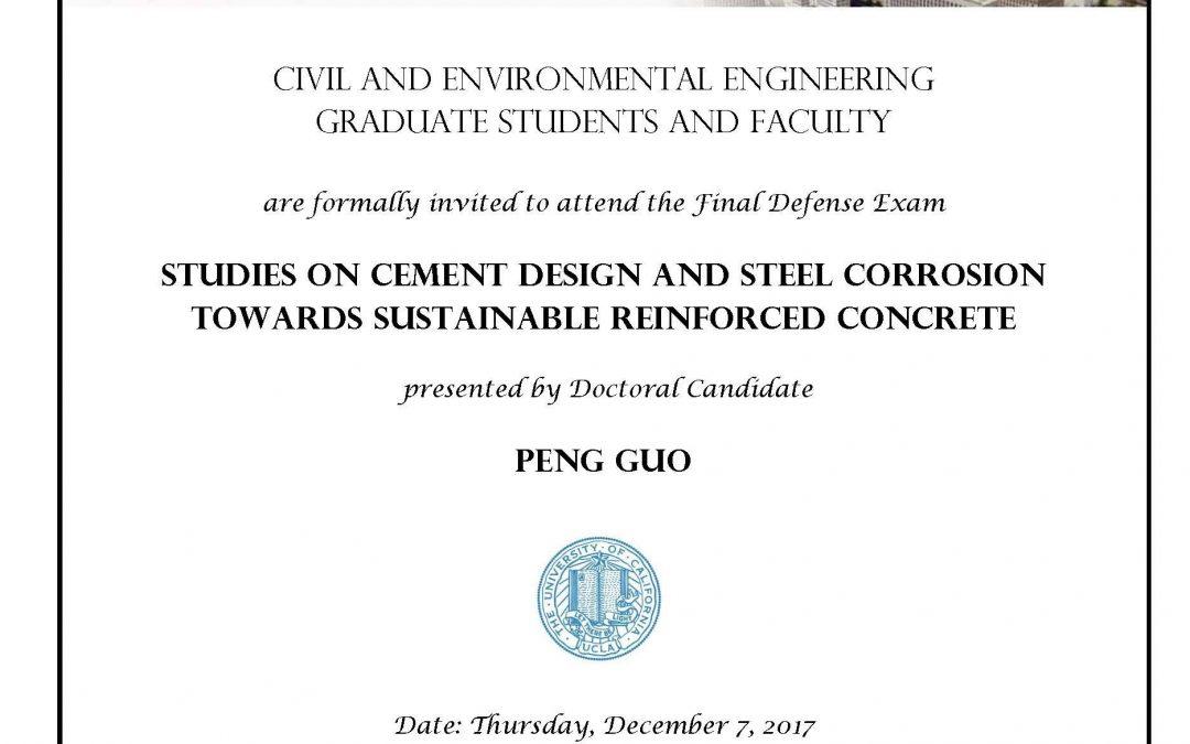 Final Defense Exam: Peng Guo