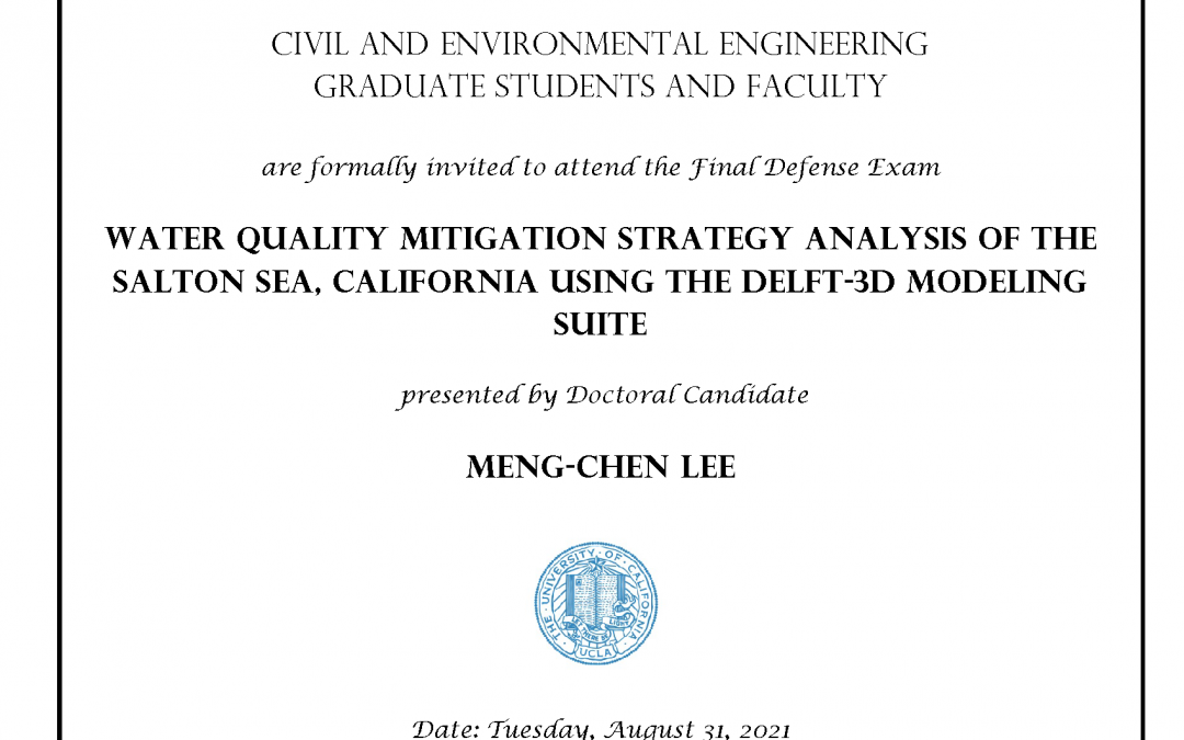 Meng chen lee defense exam flyer.
