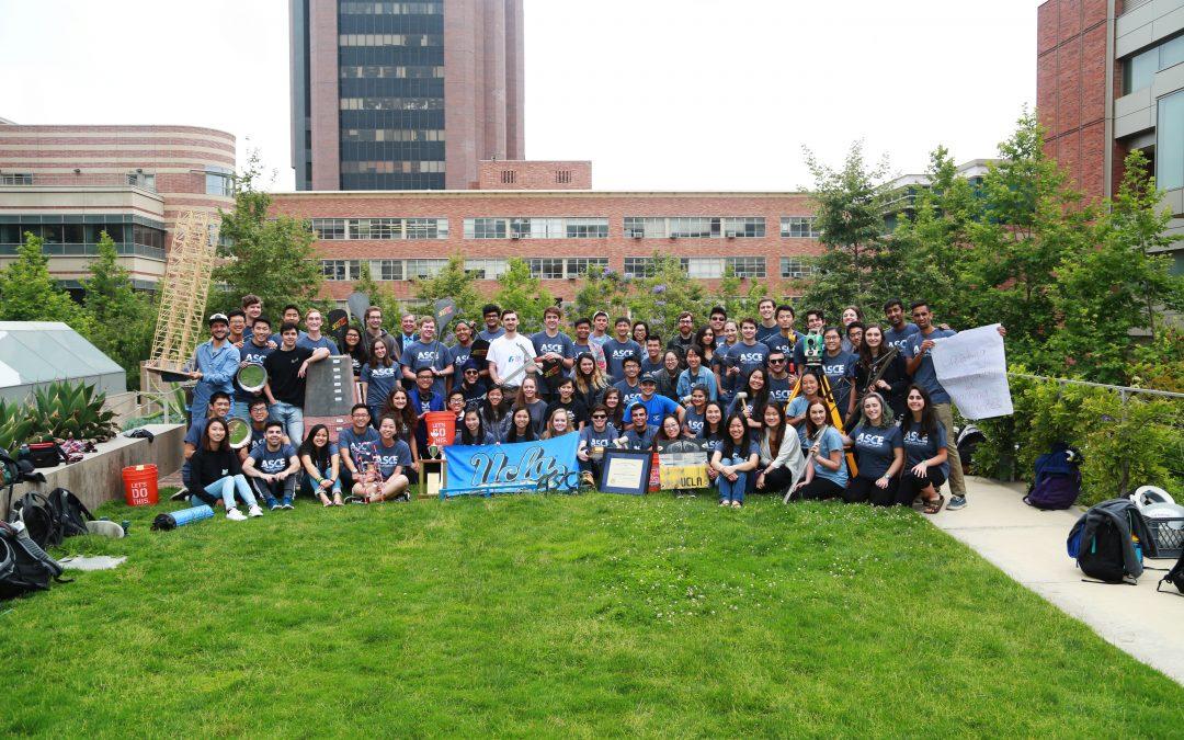 UCLA ASCE Student Chapter designated a Ridgway Finalist