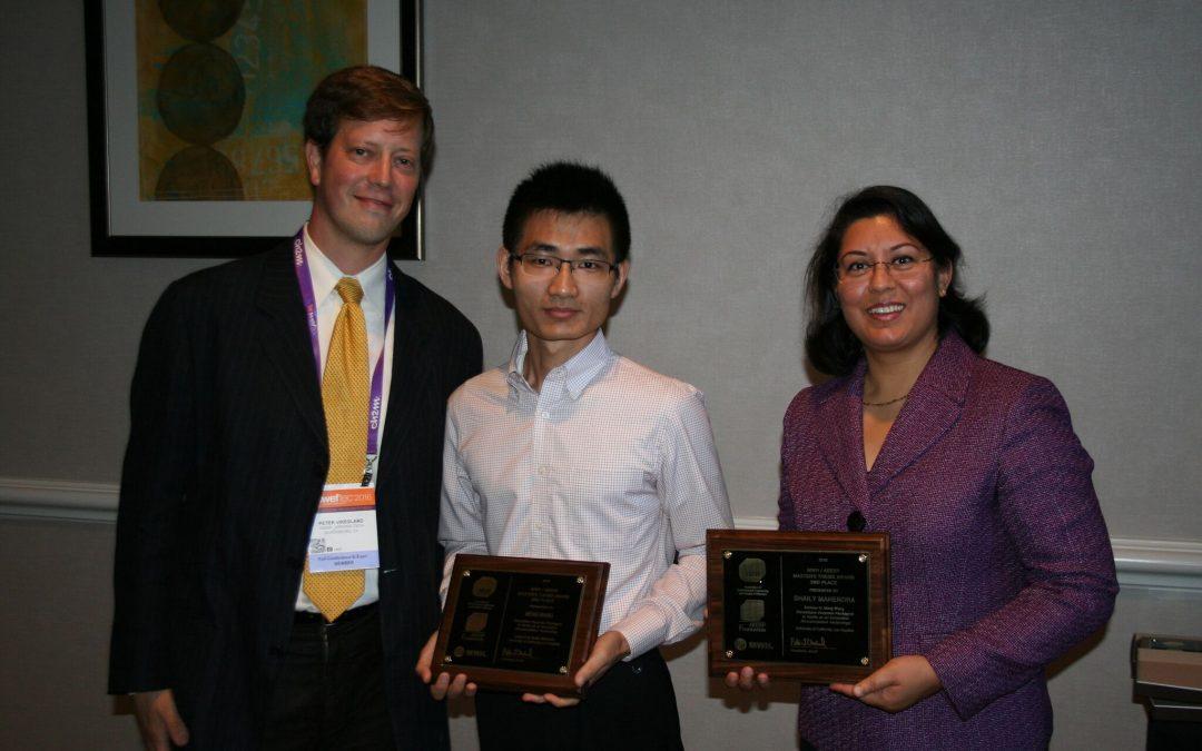 Meng Wang, Ph.D. Candidate (Environmental) Awarded MWH/AEESP Master's Thesis Award