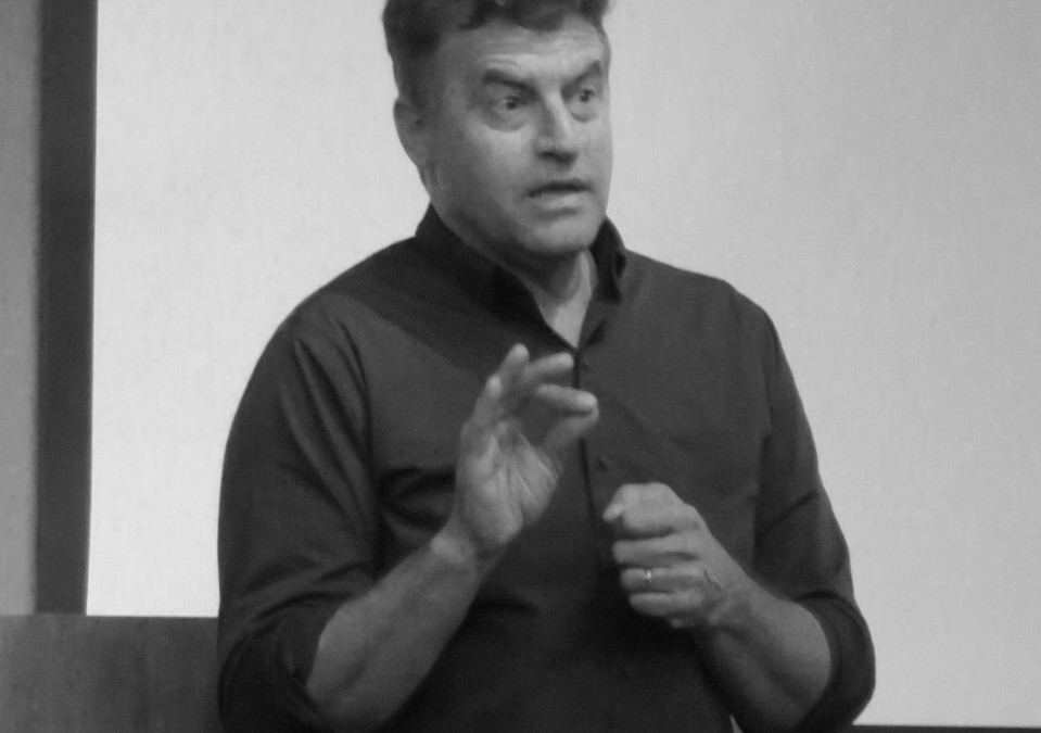 Man speaks at workshop