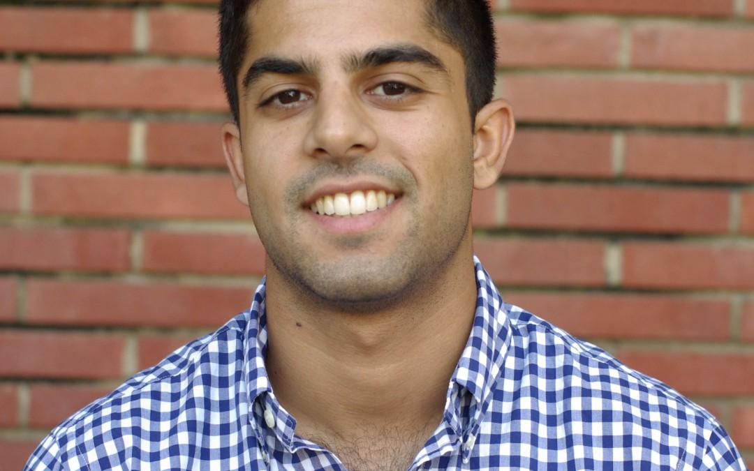Sean Ahdi, Ph.D. Student, Elected Chair of Geo-Institute Student Leadership Council