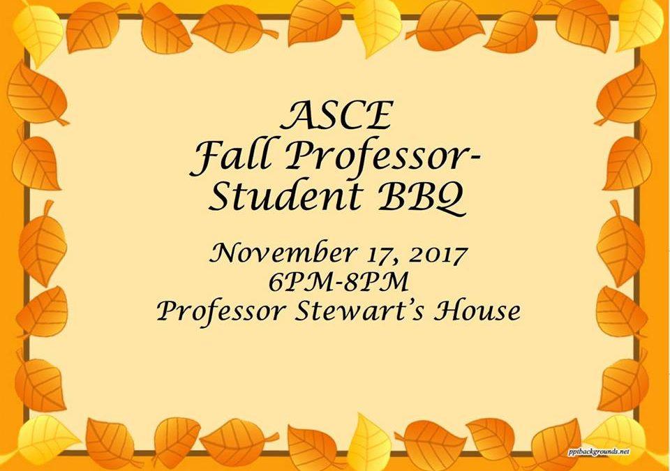 Professor-Student BBQ