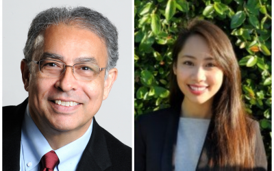 C&EE Professor Yousef Bozorgnia and C&EE Student Camille H. Le Win 2021 Samueli Awards