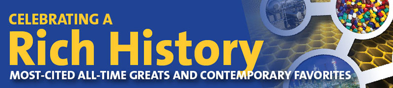 """banner that reads """"Celebrating a Rich History Most-Cited All-Time Greats and Contemporary Favorites"""""""
