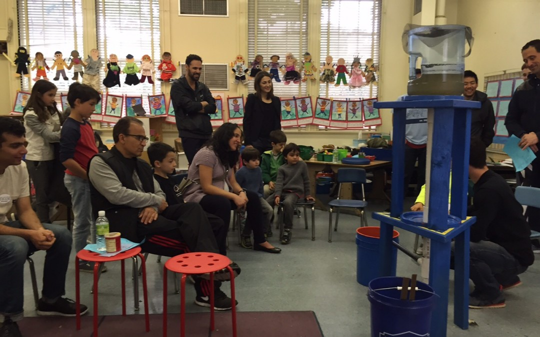 UCLA C&EE Visits Warner Elementary School's Science Slam