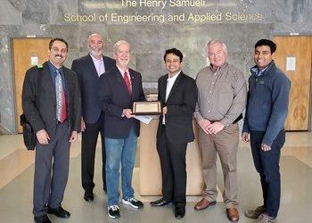 John Ries Scholarship Awarded to C.E.E. PhD Student Annesh Borthakur