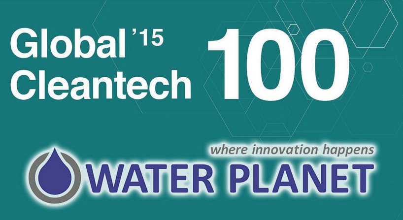 Water Planet selected as Global Cleantech 100 Ones to Watch